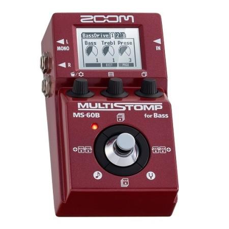 Zoom MS-60B Multistomp bas