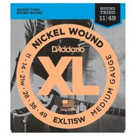 D'Addario EXL115W