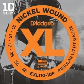 D'Addario EXL110-10P