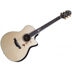 Acoustic Guitar Crafter Twin Birds-Series