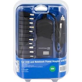 DELTACO SDR-90WDU billaddare för notebook