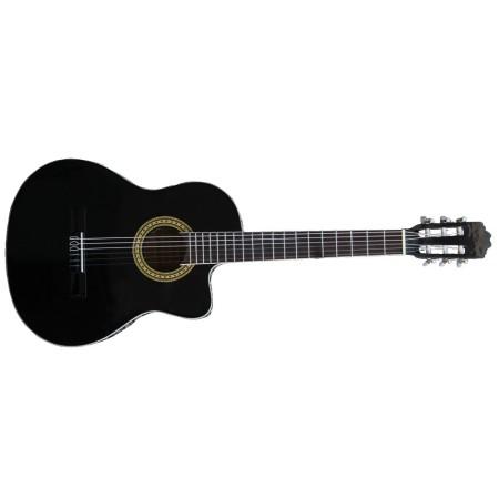 Classical Guitar Cataluna SGN-C81 CE BK