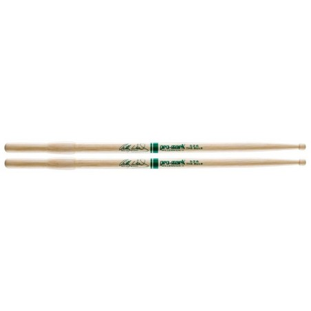 """Promark Hickory 526 """"The Bulb"""" Billy Ward Wood Tip"""