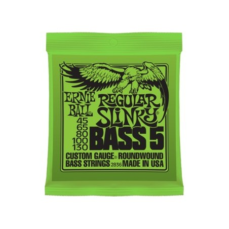 Ernie Ball 5-String Regular Slinky Bass