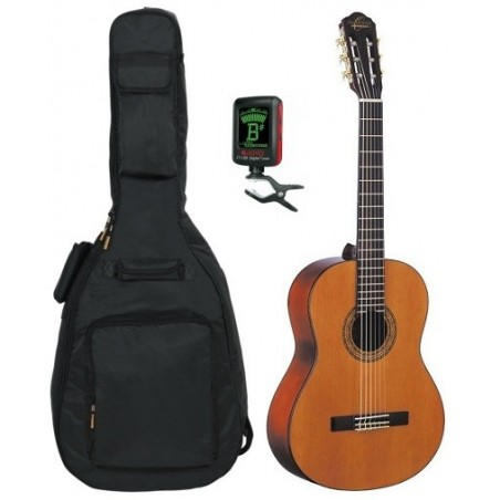 Klassisk gitarr Oscar Schmidt OC9 paket