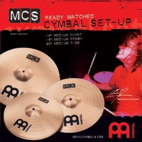 Meinl MCS141620 cymbalset
