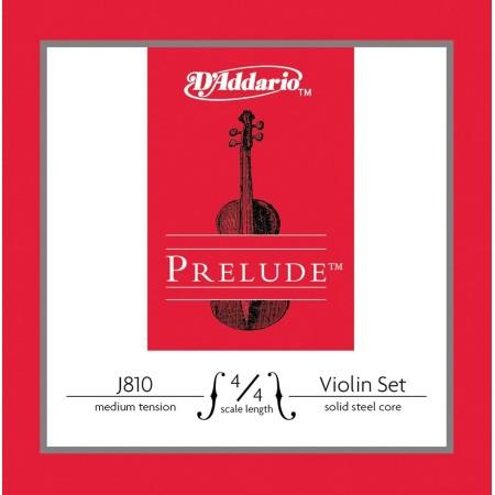 D'Addario Prelude J810 4/4M