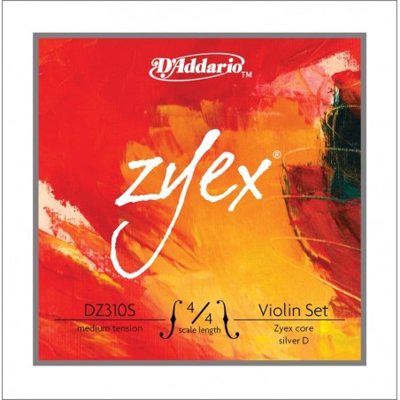 D'Addario Zyex DZ310S 4/4M violinset