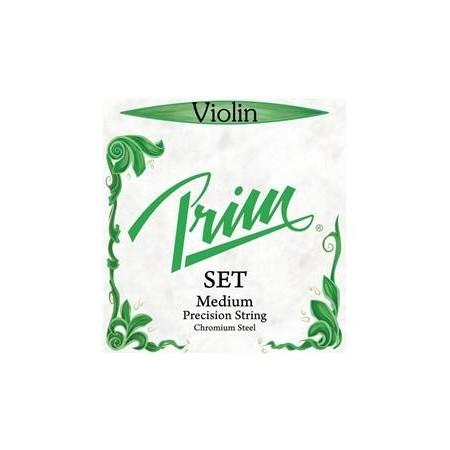 Violinsträng Prim Grön SET