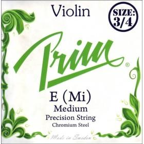 Violinsträng Prim Grön SET 3/4