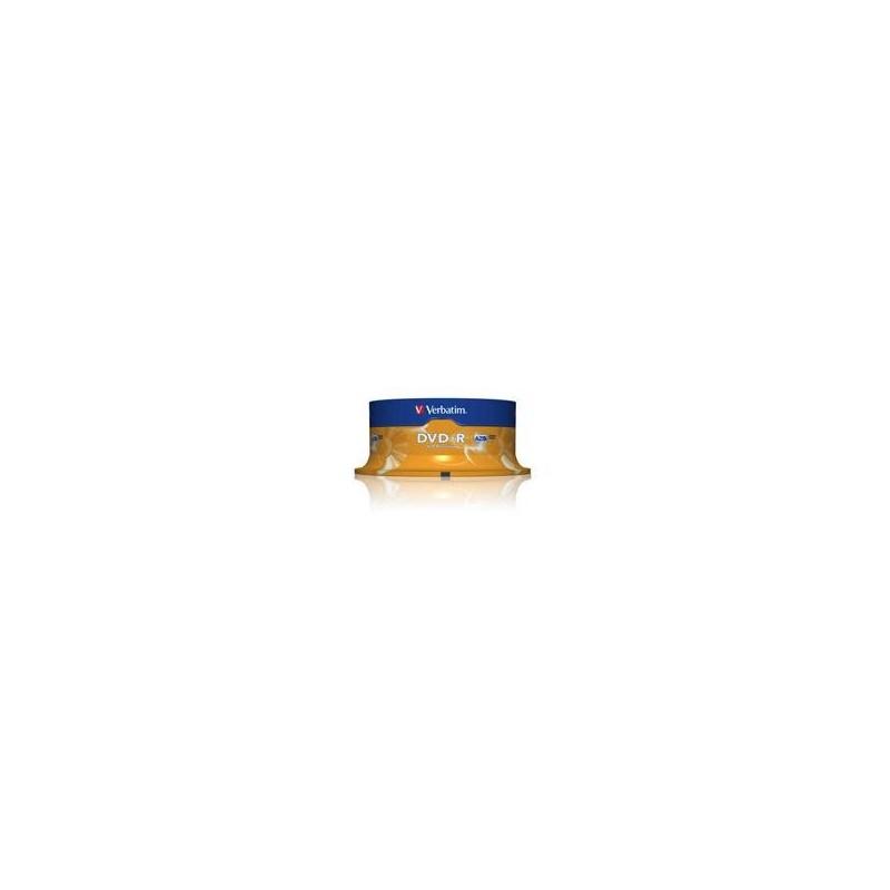 DVD-R Verbatim 4.7GB 16X 25-pack Spindel