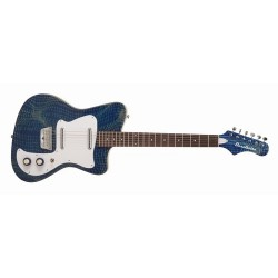 Elgitarr Danelectro 67 Heaven Guitar Alligator Blue