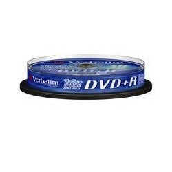 DVD+R Verbatim 4.7GB 16X 10-pack Spindel