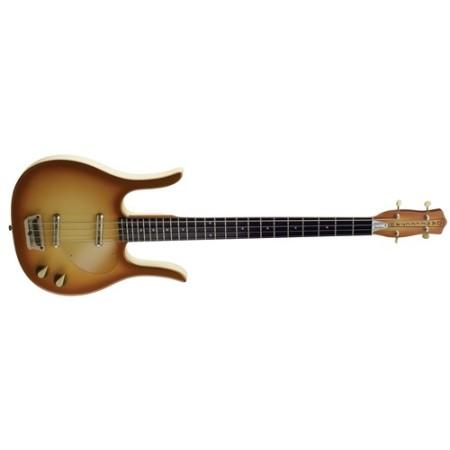 Electric Bass Danelectro 58 Longhorn Bass Copper Burst