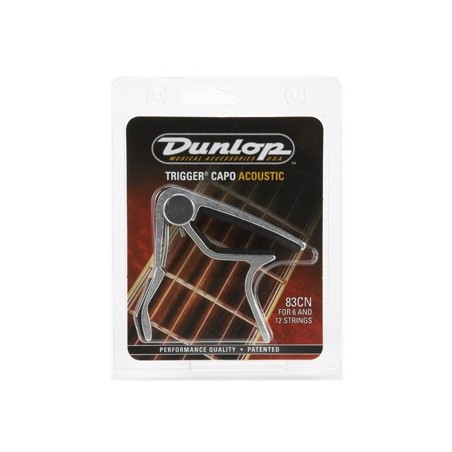 Dunlop triggercapo nickel curved
