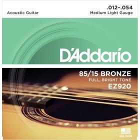 D'Addario EZ920 Amercan Bronze