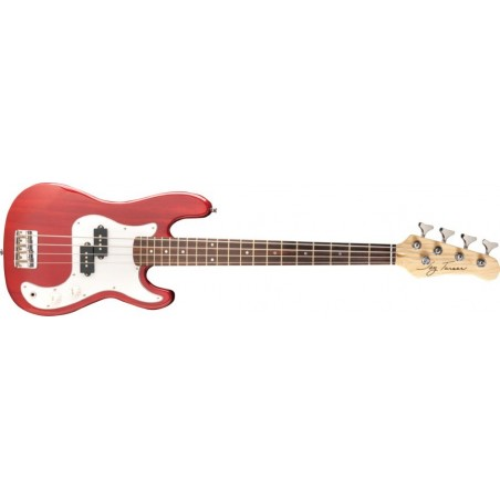 Elbas Jay Turser 3/4 P Style Bass Trans Red