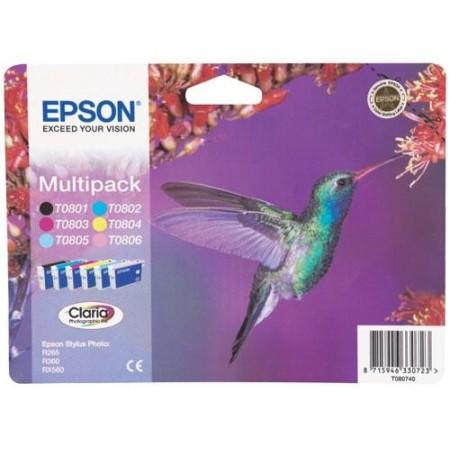 Bläckpatron Epson C13T08074011 Multipack