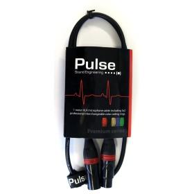 Pulse Mikrofonkabel 1m XLR/XLR