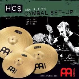 Meinl HCS141620 Headliner Cymbal Set