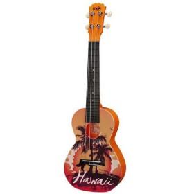 Korala PUC-30 Ukulele Consert - Hawaii Orange