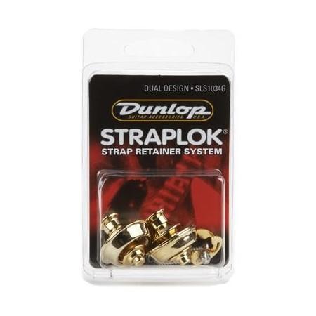 Dunlop Straplok SLS 1034G Gold
