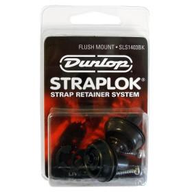 Dunlop Straplok SLS 1403BK Black Flush