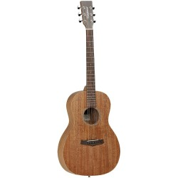 Westerngitarr Tanglewood TW3 Parlour Mahogny med case