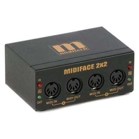 Miditech MIDI Face 2×2