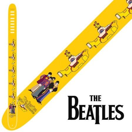 "Perri's P25-TB-6080 | 2.5"" The Beatles Leather Strap - Yellow Submarine"