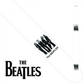 "Perri's P25-TB-6075 | 2.5"" The Beatles Leather Strap - White Album"