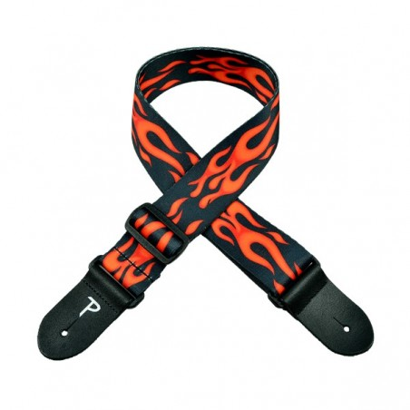 """Perri's LPCP-702   2"""" Polyester Strap - Flame Red"""