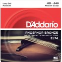D'Addario EJ74 Medium Mandolin