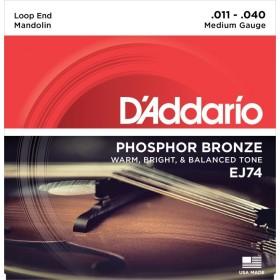 D'Addario EJ74 Medium Mandolin