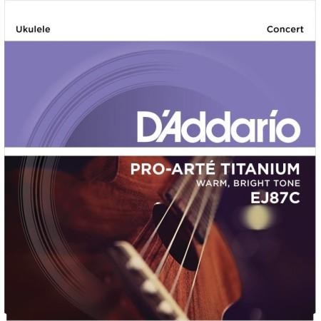 D'Addario EJ87C Concert Ukulele