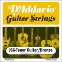 D'Addario EJ66 Tenor Gitarr