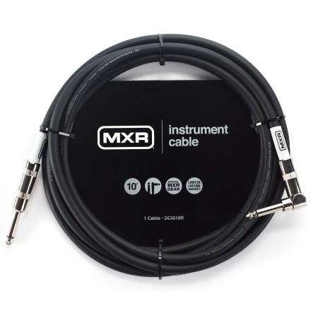 MXR DCIS10R Standard Series Instrumentkabel vinklad 3m