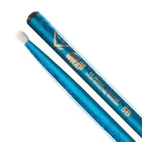 Vater Color Wrap 5B Blue Sparkle Wood Tip