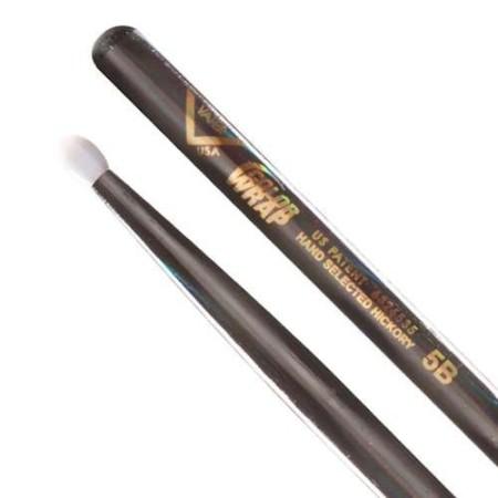Vater Color Wrap 5B Black Optic Wood Tip