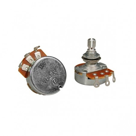 Alpha 500K Audio Potentiometer 10 mm
