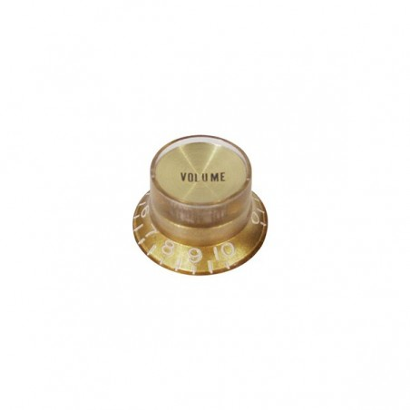Boston KG-134-V Bell Knob Gold