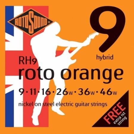 Rotosound RH9 Roto Orange - Hybrid 9-46