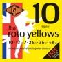 Rotosound R10 Roto Yellows - Regular 10-46