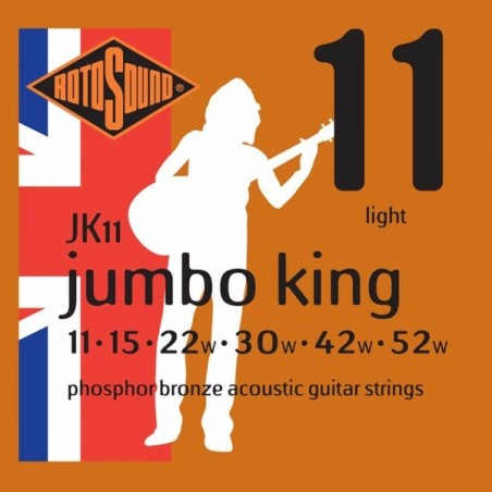 Rotosound JK11 Jumbo King Acoustic - Light