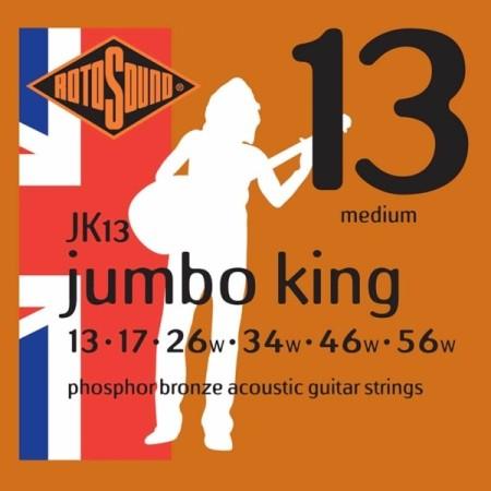 Rotosound JK13 Jumbo King Acoustic - Medium