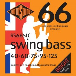 Rotosound RS665LC Swing Bass 66 - 5-str 40- 125