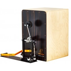 Ortega OSTBCJ-BU - Stomp Box Cajon bundle