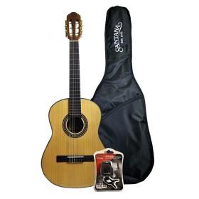 Santana B7 3/4 Classical Guitar Bundle