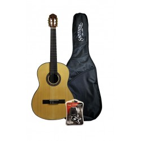 Santana B8 4/4 klassisk gitarr paket