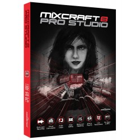 Mixcraft 8 Pro Studio – Uppgradering från Mixcraft 8 Recording Studio Download